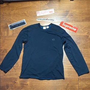 AX Armani Exchange Long Sleeve Two Tone lyocell